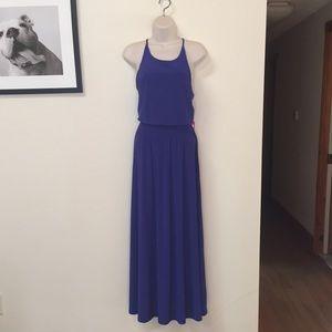 Vince Camuto cobalt maxi dress, size 8, NWT